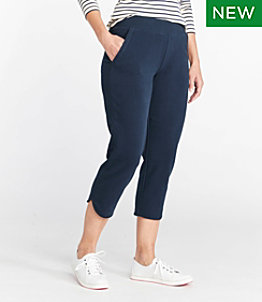 Women's Ultrasoft Sweats, Slim-Leg Cropped