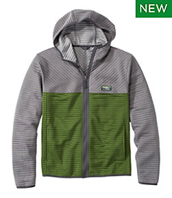 Airlight Full-Zip Hoodie, Colorblock