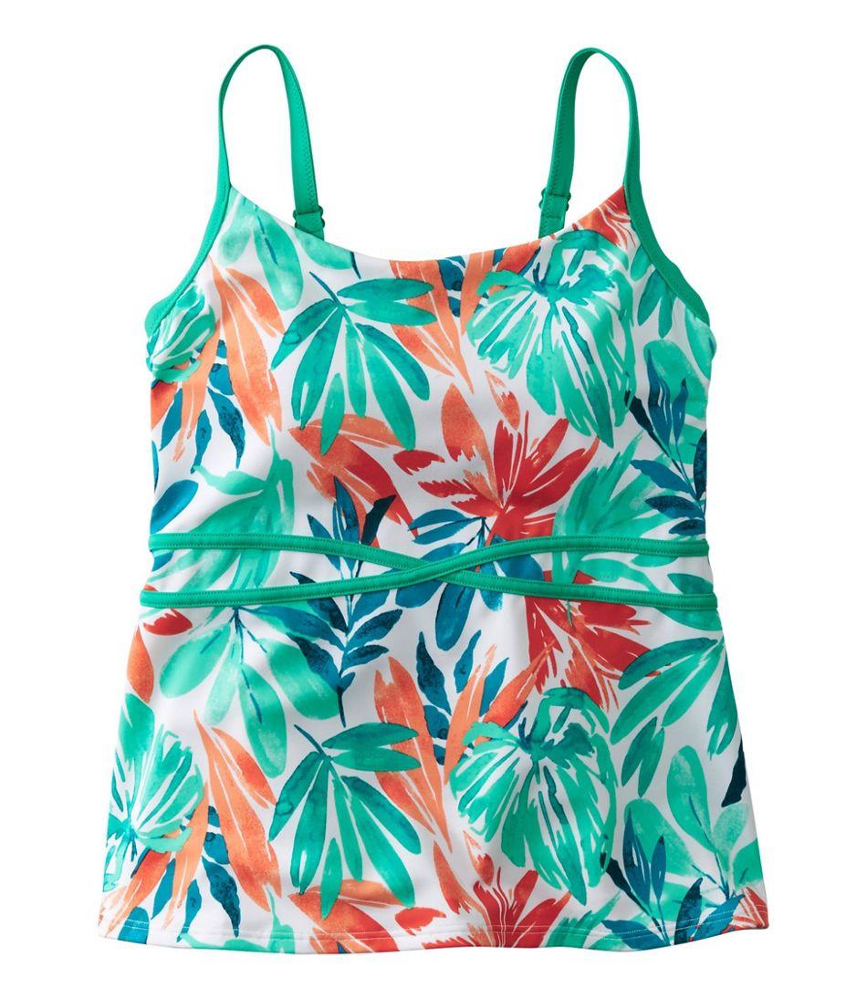 Saltwater Essentials Swimwear, Scoopneck Tankini Top, Print