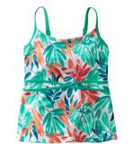 Saltwater Essentials Swimwear, Scoopneck Tankini Top, Print