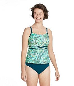 Women's Saltwater Essentials Swimwear, Scoopneck Tankini Top, Print