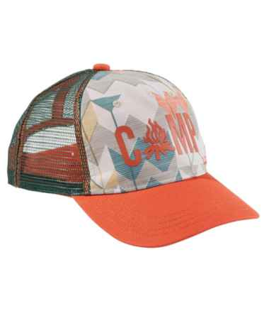 L.L.Bean Kids' Trucker Hat, Print