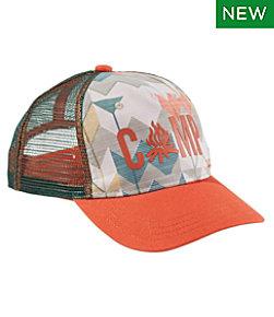 L.L.Bean Kids' Trucker Hat, Print