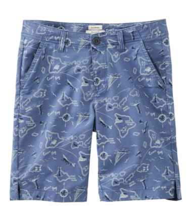 Lakewashed Chino Shorts, Bermuda Print