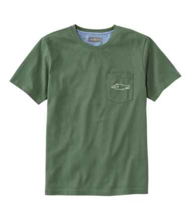 Men's Signature Pocket Tee, Short-Sleeve, Embroidered