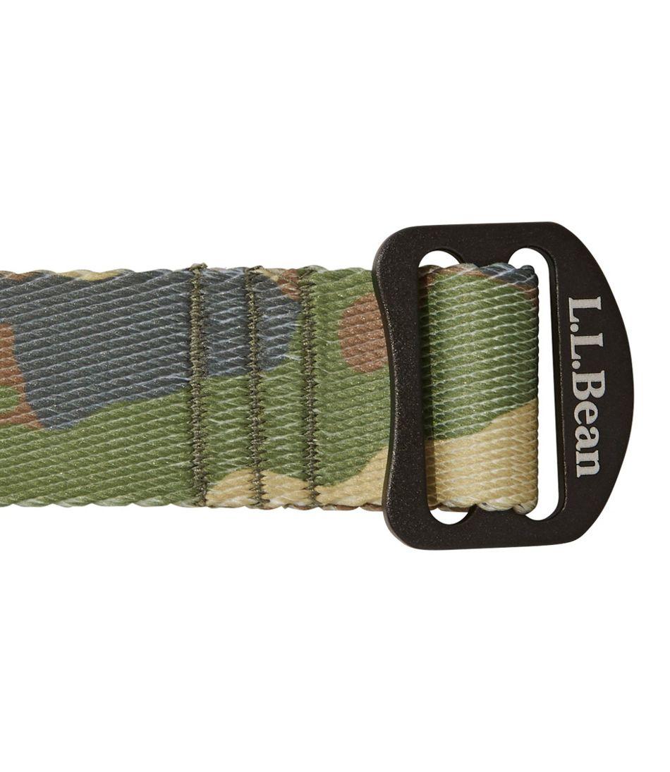 L.L.Bean Camp Belt, Jacquard Print