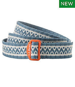 L.L.Bean Camp Belt, Jacquard Print