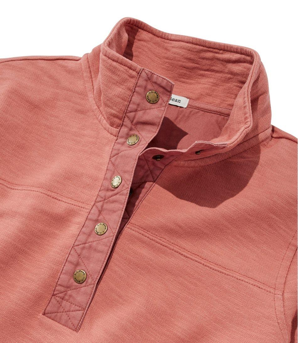 Women's Rocky Coast Sweatshirt, Snap Henley