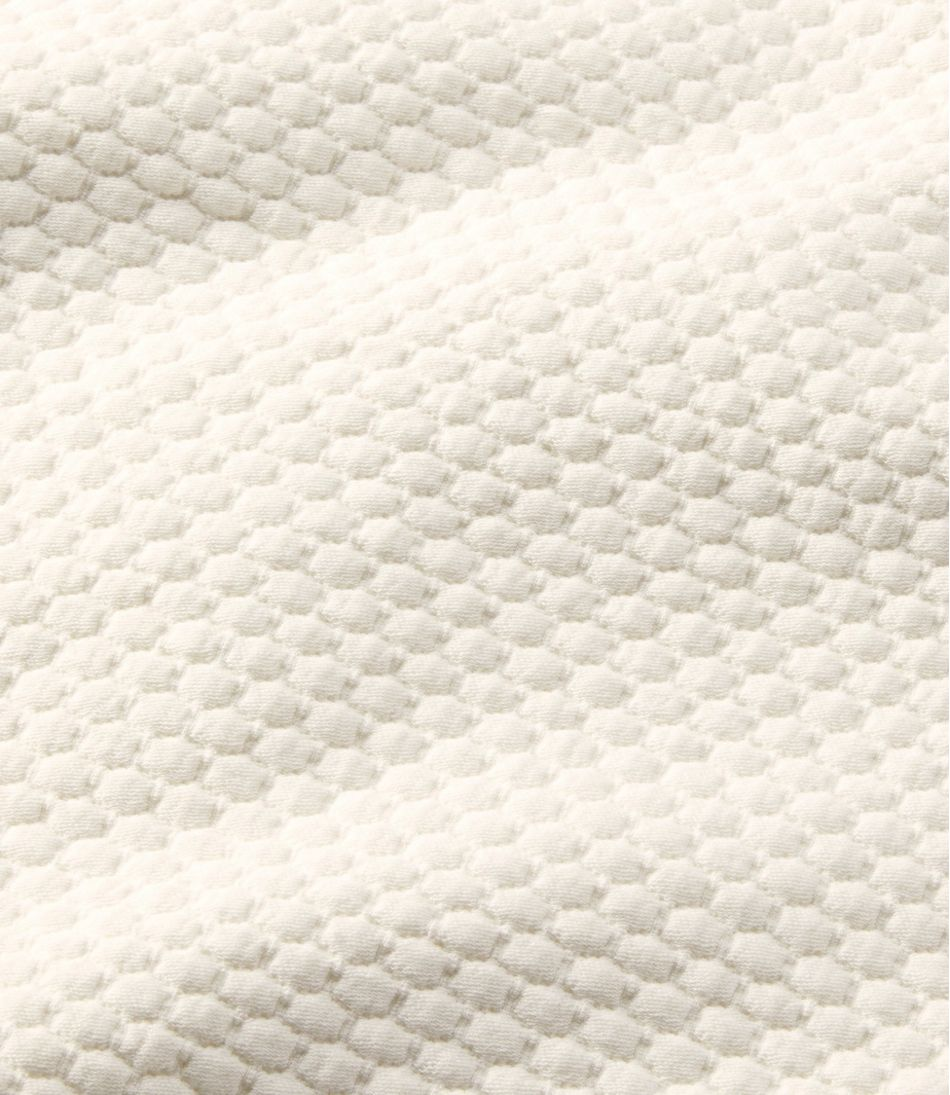 Organic Honeycomb Matelasse Coverlet
