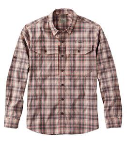 Men's No Fly Zone Long-Sleeve Shirt, Plaid