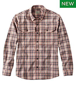 Men's No Fly Zone Long-Sleeve Shirt, Plaid
