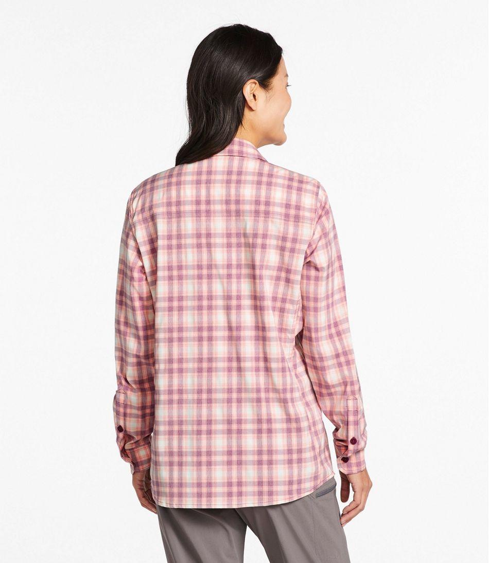 Women's No Fly Zone Long-Sleeve Shirt, Plaid