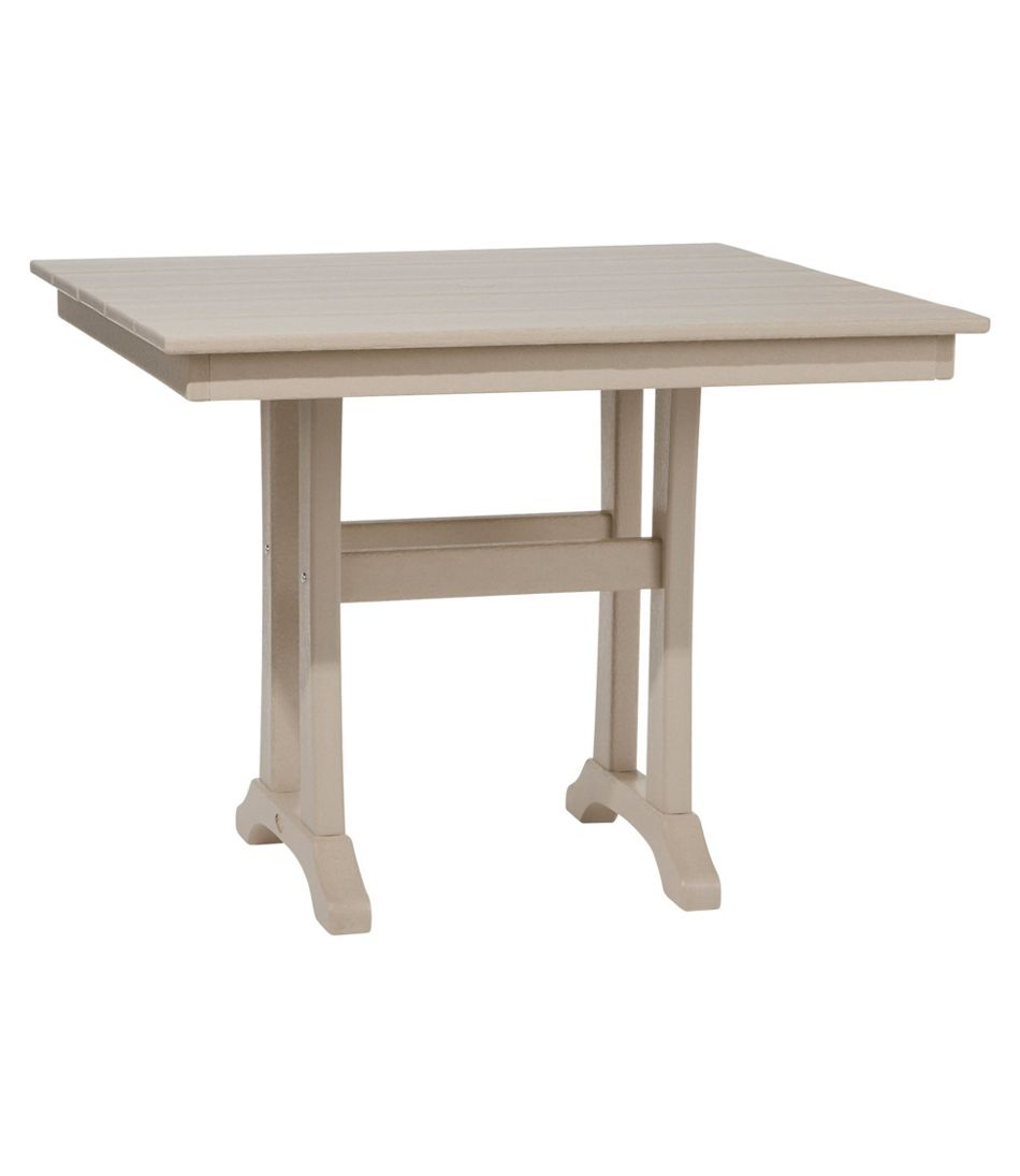 All-Weather Farmhouse Table, Square