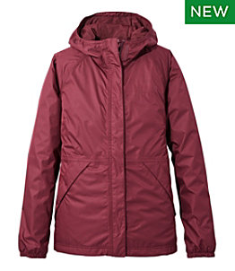 Women's Waterproof Windbreaker Jacket