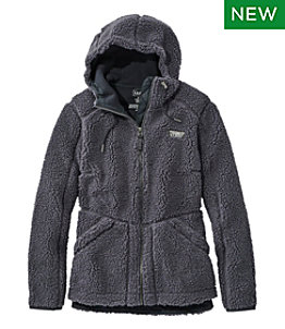 Women's Mountain Pile Fleece Hoodie