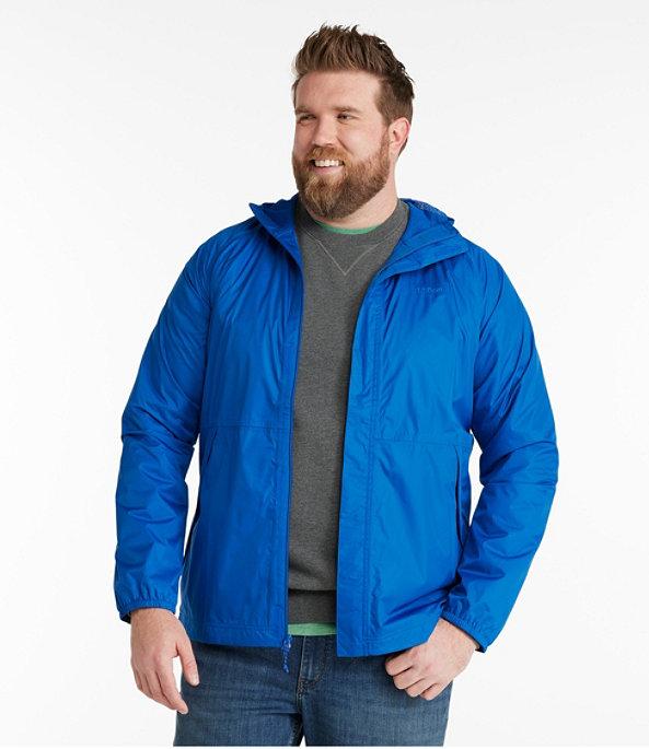 Waterproof Windbreaker Jacket, Gunmetal Gray, large image number 4