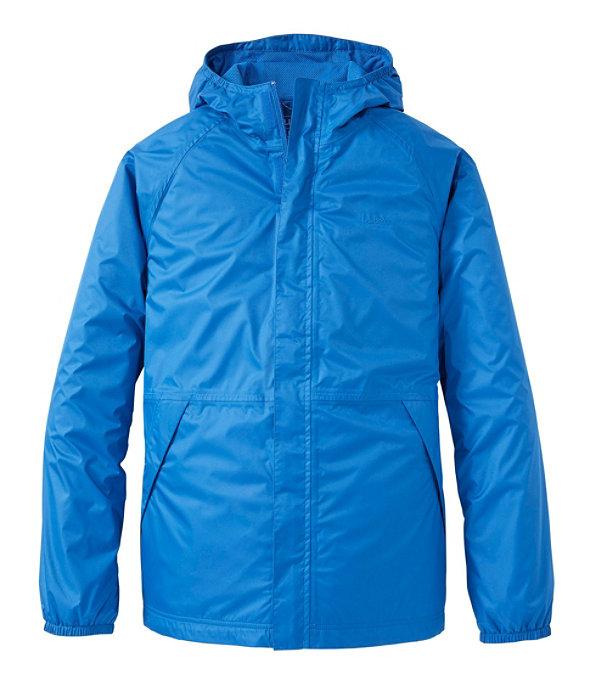 Waterproof Windbreaker Jacket, Deep Sapphire, large image number 0