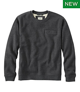 Men's Katahdin Iron Works Bonded Waffle Fleece, Crewneck