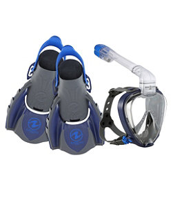 Adults' Aqua Lung Smart Snorkel Set