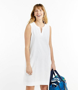 Cotton Knit Sleeveless Cover-Up