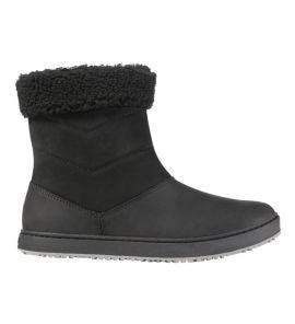 L.L.Bean Women's Mountainside Mid Fleece-Lined Boots