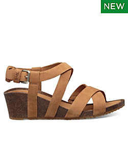 Women's Teva Mahonia Wedge Cross Strap