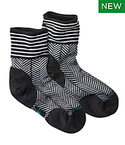 Women's SmartWool Herringbone Mini Boot Sock