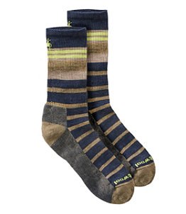 Men's SmartWool Striped Hike Light Crew Socks