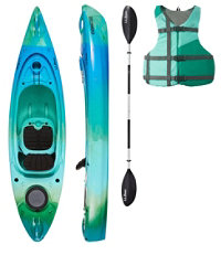 L.L.Bean Manatee Kayak Set