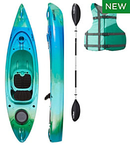 L.L.Bean Manatee Kayak Set