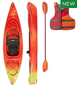L.L.Bean Manatee Comfort Deluxe Kayak 10' Set