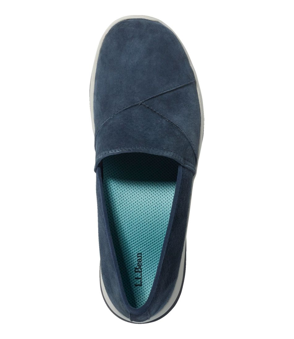 Women's Back Cove Stretch Slip-Ons, Nubuck