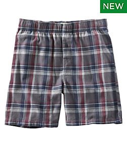 Men's Rangeley Organic Stretch Flannel Boxer