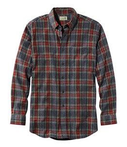 Men's Scotch Plaid Flannel Shirt, Slim Fit