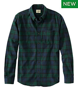 Men's Scotch Plaid Flannel Shirt, Slim Fit