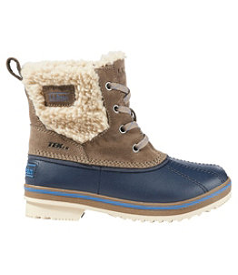 Kids' L.L.Bean Rangeley Sherpa Boots
