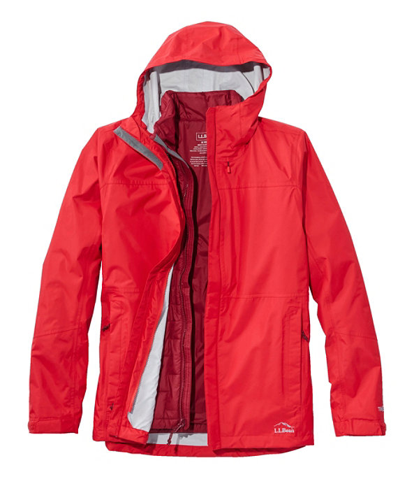 Trail Model Rain 3-in-1 Jacket, Molten Red/Mountain Red, large image number 0