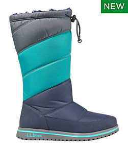 Kids' Ultralight Waterproof Snow Boots, Tall