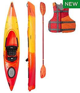 L.L.Bean Manatee 12' Comfort Deluxe Kayak Set