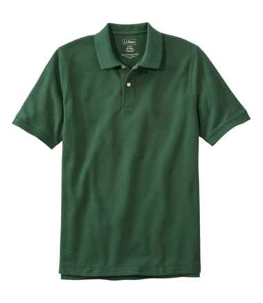 Men's Premium Double L® Polo, Short-Sleeve Without Pocket, Slim Fit