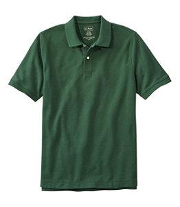 Men's Premium Double L Polo, Short-Sleeve Without Pocket, Slim Fit