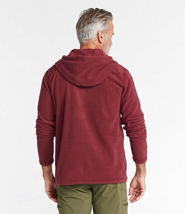 Trail Fleece Hooded Pullover, Deep Admiral Blue/Slate, large image number 2