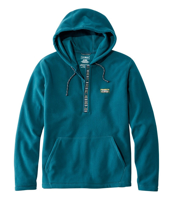 Trail Fleece Hooded Pullover, Deep Admiral Blue/Slate, large image number 0