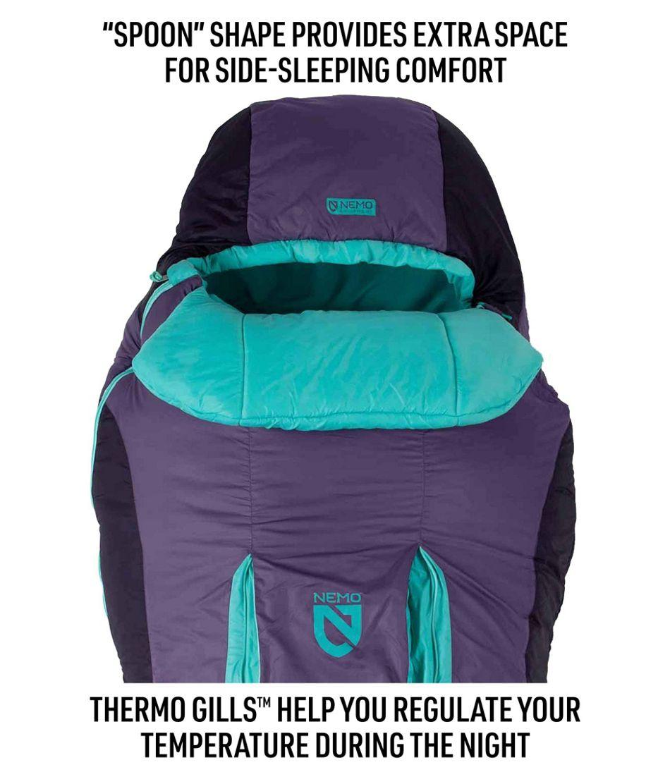 Women's Nemo Forte Sleeping Bag, 20°