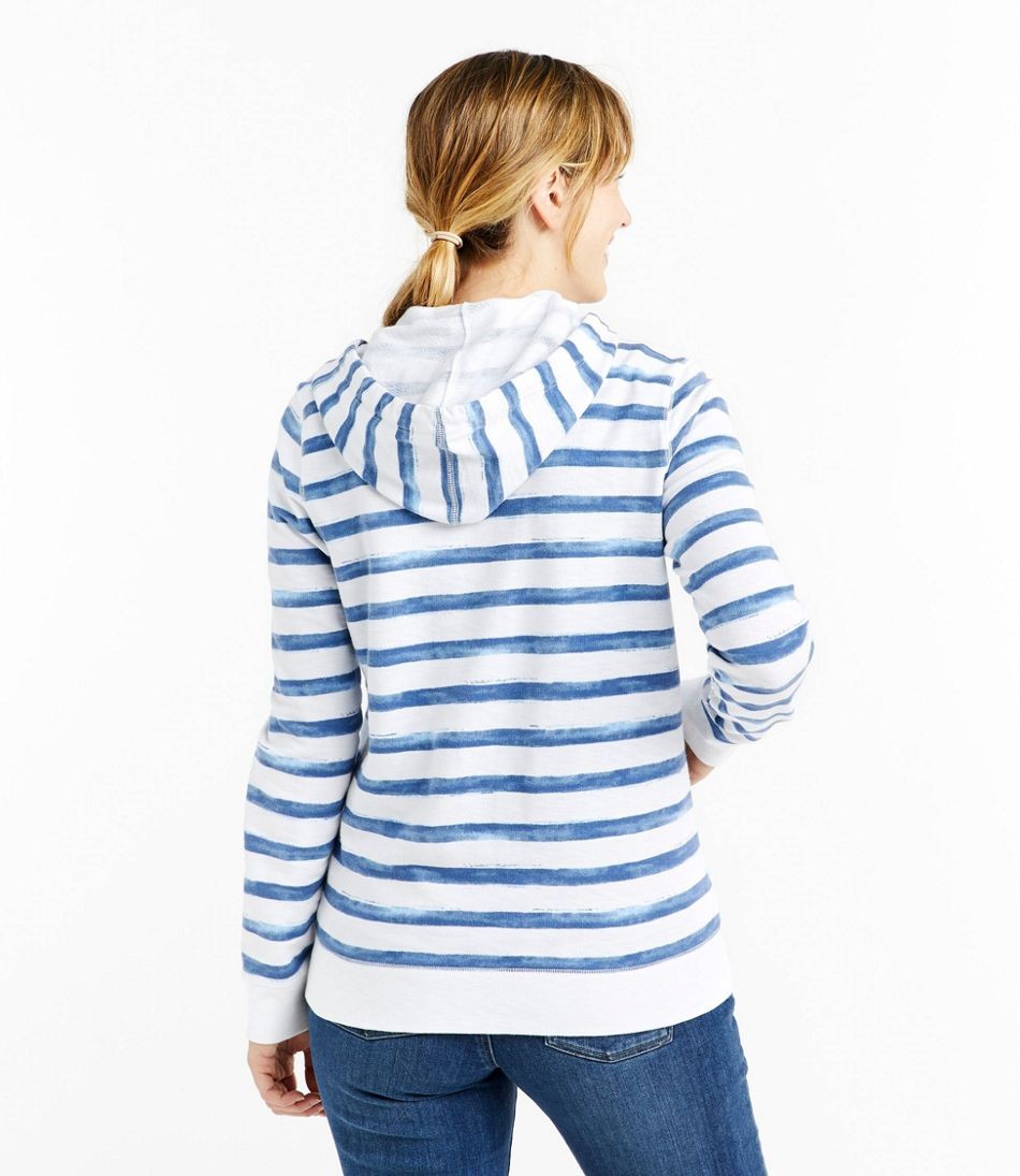 Women's Organic Cotton Hooded Sweatshirt, Long-Sleeve Print