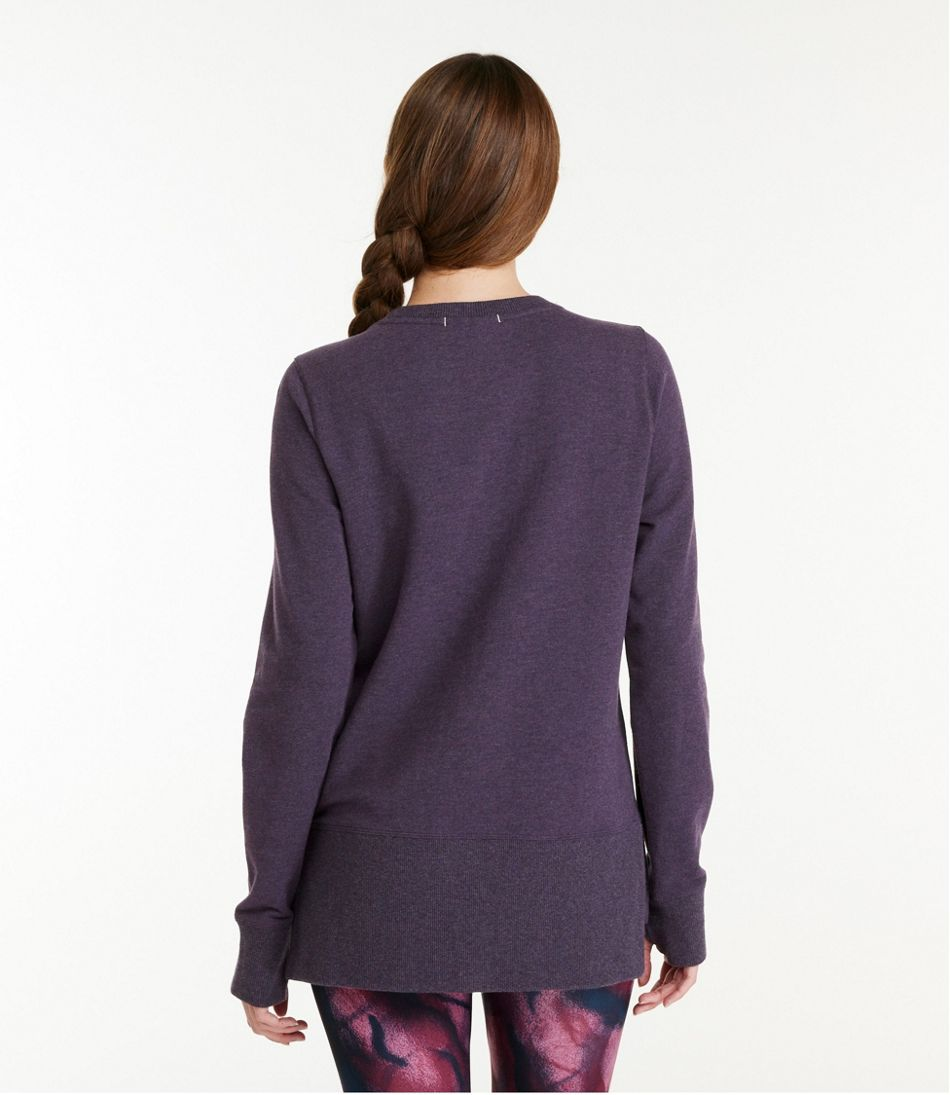 Women's Bean's Cozy Sweatshirt, Split-Hem