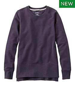 Women's L.L.Bean Cozy Sweatshirt, Split-Hem