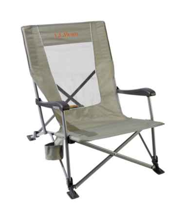 L.L.Bean Easy Comfort Camp Chair, Low