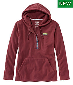 Women's Trail Fleece Half-Snap Pullover Hoodie