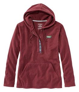 Women's Trail Fleece Half-Snap Pullover Hoodie